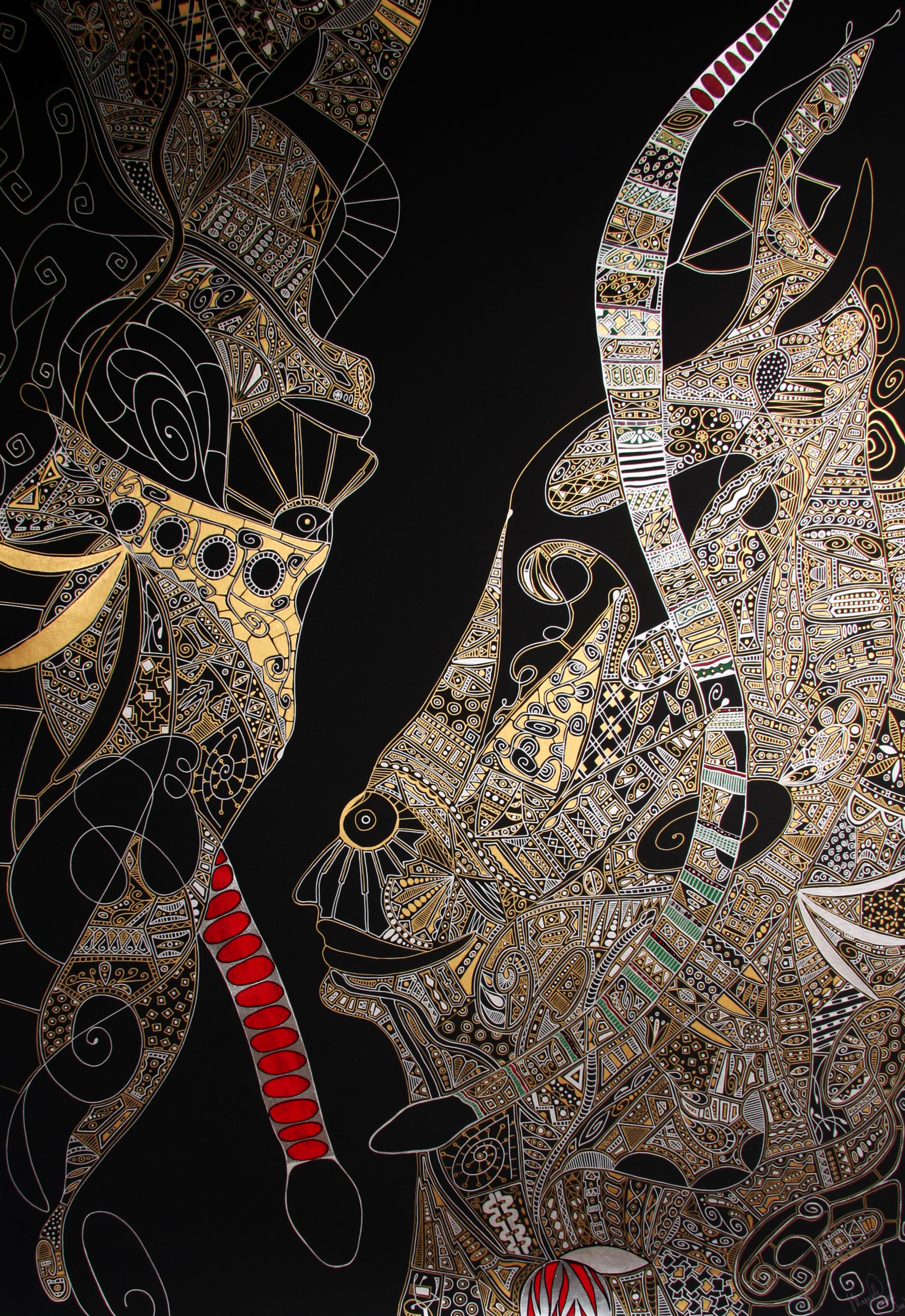 Schlange, Ziege und ihre königliche Hoheit Jelena Markovic